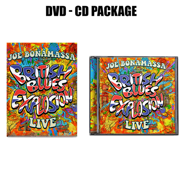 British Blues Explosion Live  CD & DVD Package ***PRE-ORDER***