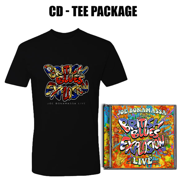 British Blues Explosion Live CD & T-Shirt Package ***PRE-ORDER***