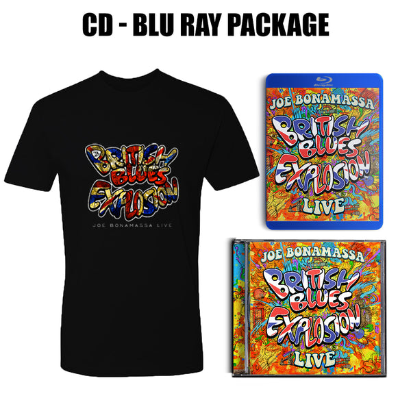 British Blues Explosion Live CD & Blu-ray + T-Shirt Package ***PRE-ORDER***