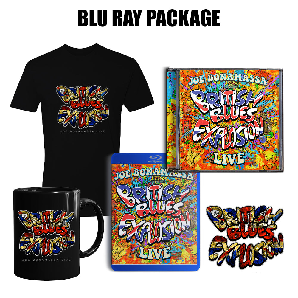 British Blues Explosion Live Ultimate CD/Blu-ray Package