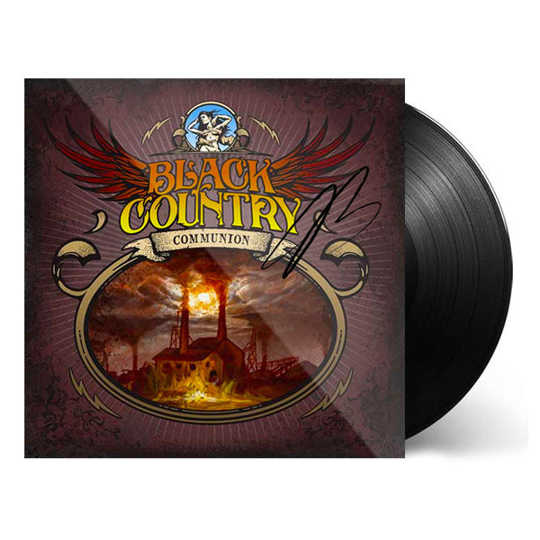 Black Country Communion (Vinyl) (Released: 2010) - Hand-Signed