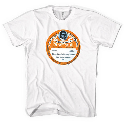 Blind Lemon Jefferson - Birthday Record T-Shirt (Unisex)