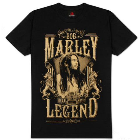 Bob Marley - Rebel Legend (Unisex)