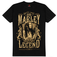 Bob Marley - Rebel Legend T-Shirt (Unisex)