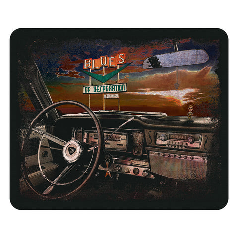 Blues of Desperation Mouse Pad