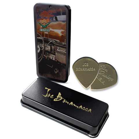 Blues of Desperation Pick Tin Case + Picks