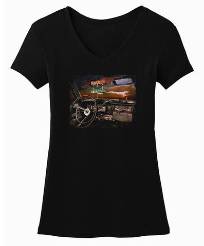 Blues of Desperation V-Neck (Women)