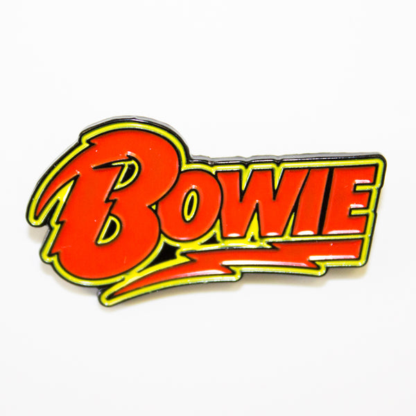 David Bowie Logo Pin