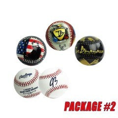 Official Home Run Baseball - Package