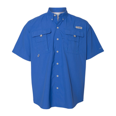 Columbia Bahama II Vivid Blue Short Sleeve - Blues Life Shield (Men)