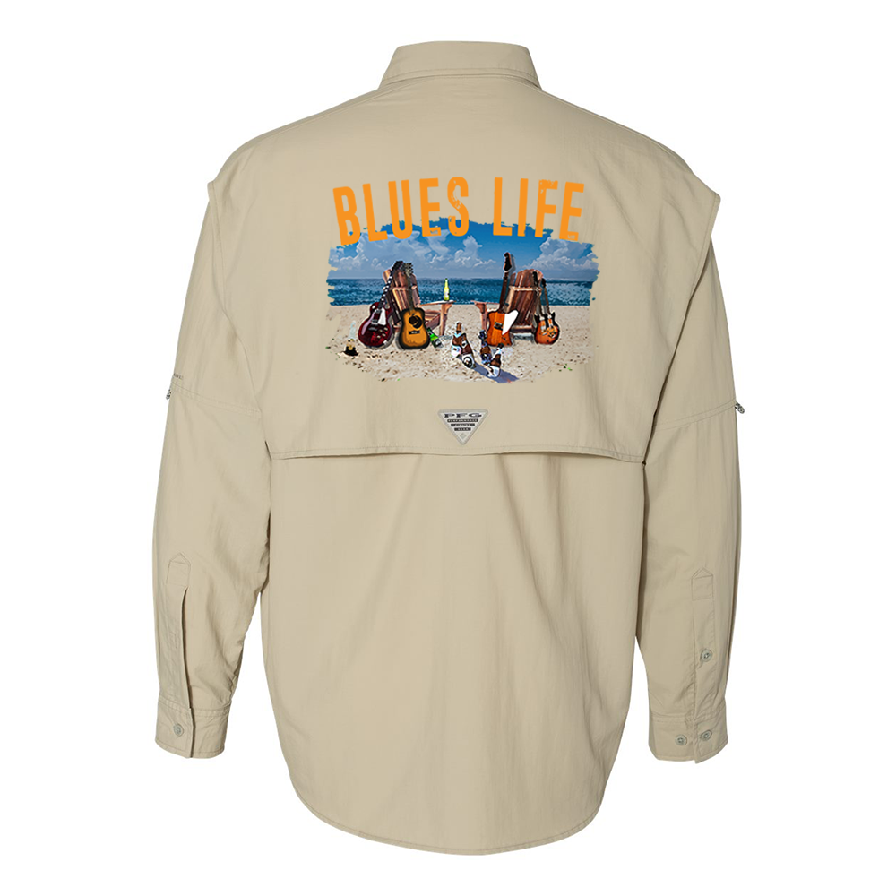 Columbia Bahama II Fossil Long Sleeve - Blues Life (Men)