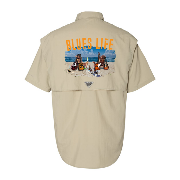 Columbia Bahama II Fossil Short Sleeve - Blues Life (Men)