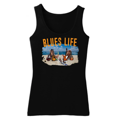 Blues Life Tank (Women) - Black