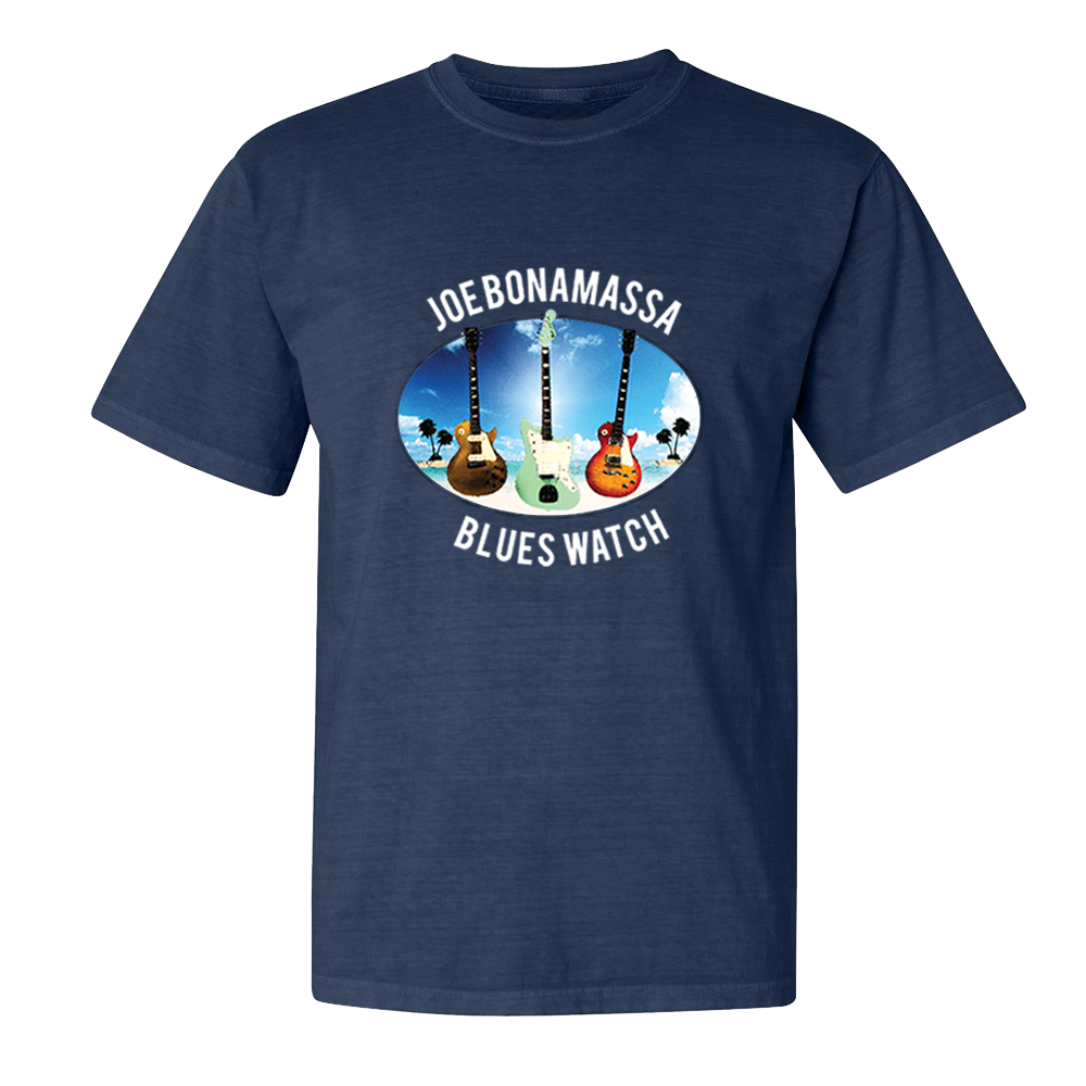 Blues Watch T-Shirt (Unisex) - Midnight Navy
