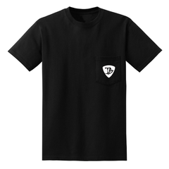 Blues Watch Pocket T-Shirt (Unisex) - Black