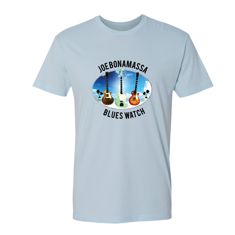Blues Watch T-Shirt (Unisex) - Light Blue