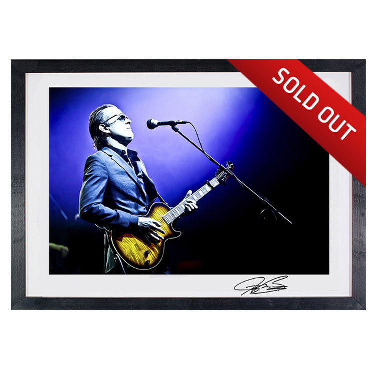 "#9 ""Blues Deluxe"" JOE BONAMASSA Collectible Litho (FRAMED - USA ONLY)"