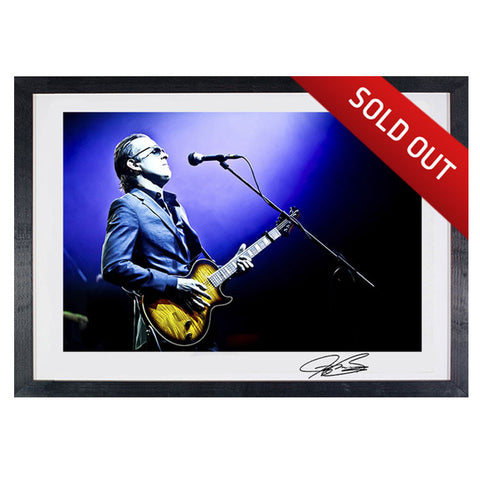 "#9 ""Blues Deluxe"" - Joe Bonamassa Collectible Litho"