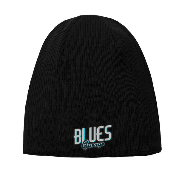 Blues Garage New Era Knit Beanie - Black