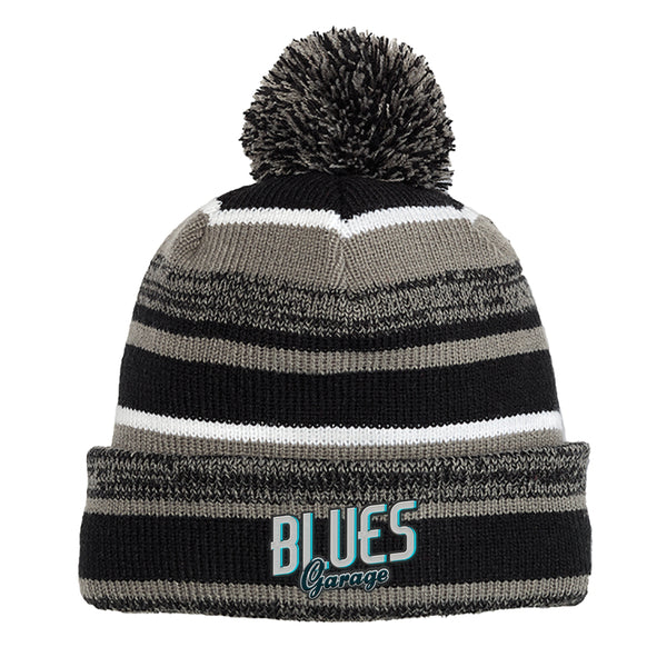 Blues Garage New Era Sideline Beanie - Black