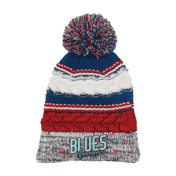 Blues Garage Pom Pom Beanie