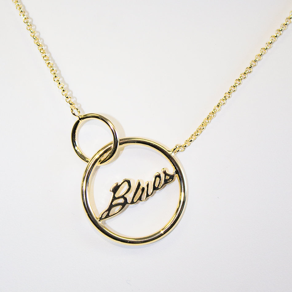 Blues Loop Necklace