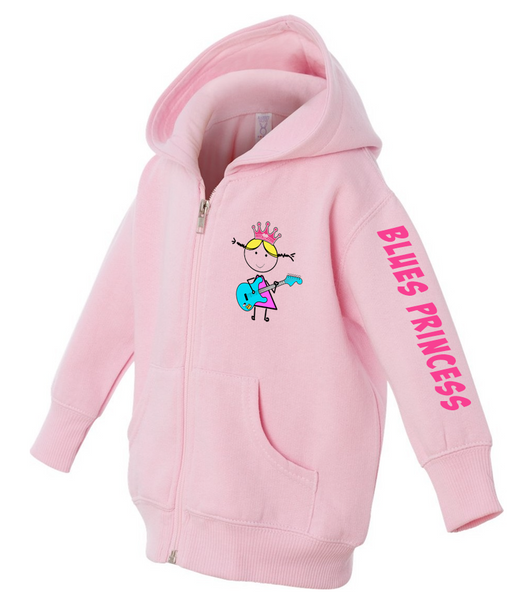 Blues Princess Rabbit Skin Infant Jacket