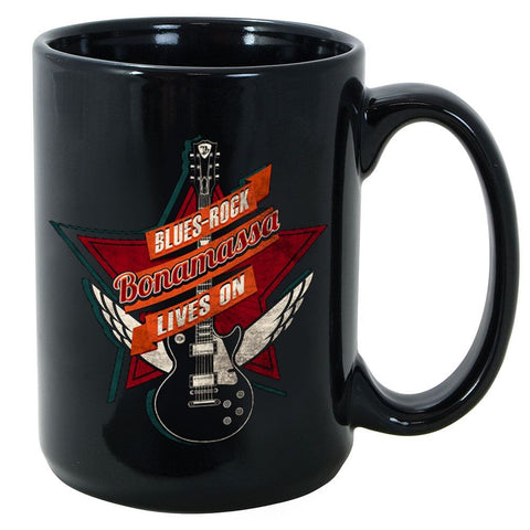 Blues Rock Lives On Mug