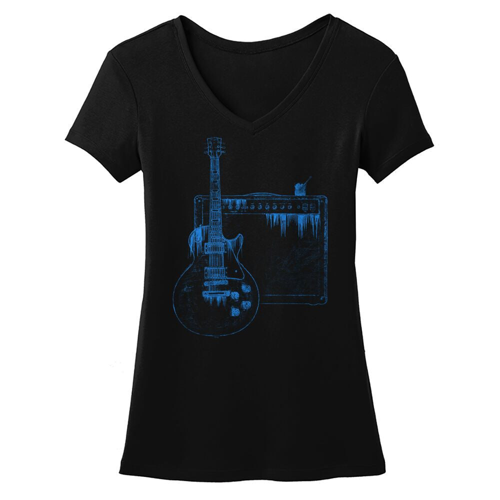 Tribut - Blues on the Rocks V-Neck (Women)