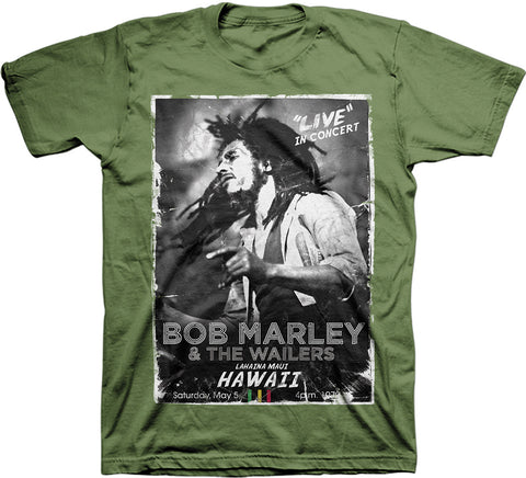 Bob Marley - Hawaii Concert T-Shirt (Men)