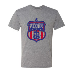 Bonamassa Blues T-Shirt (Unisex) - Heather Grey