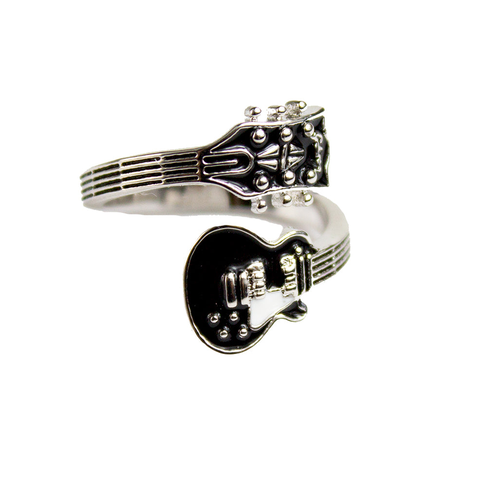 Bona-Fide Black Guitar Ring