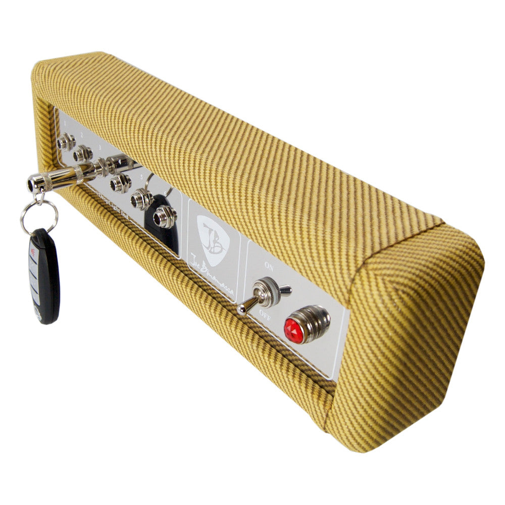 Fender Tweed Amp >> Bona Fide Fender Inspired Tweed High Powered Twin Amp Replica Key Holder