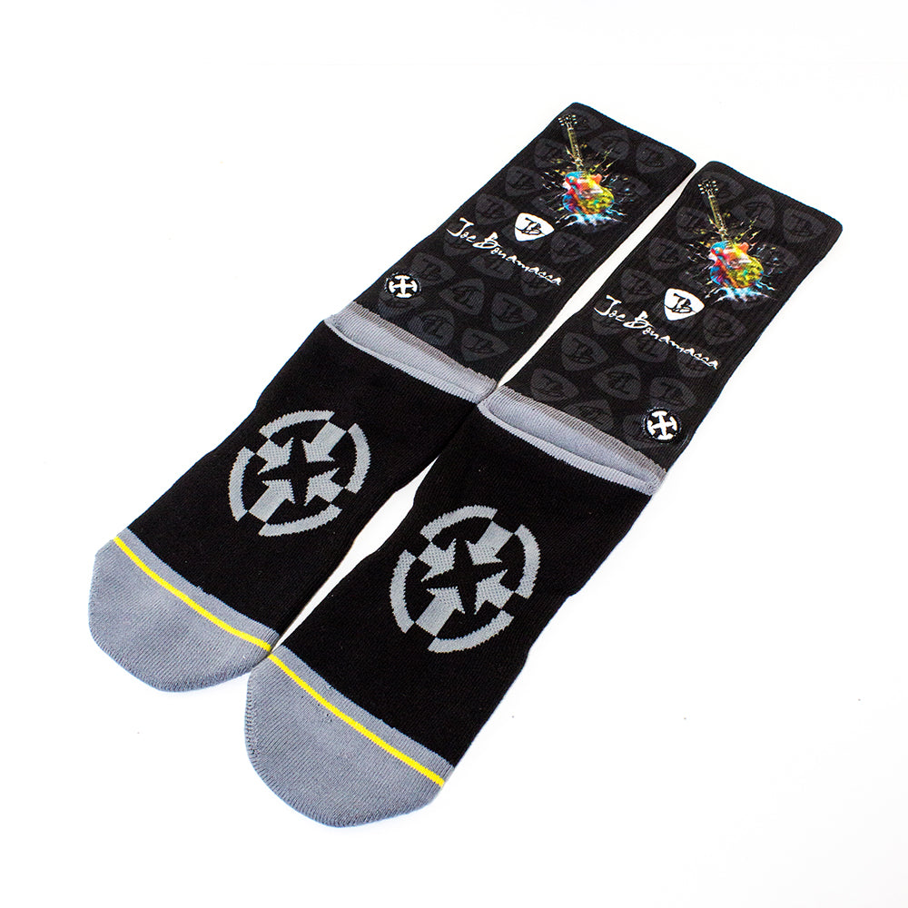 Electric Guitars Crew Socks by Merge4