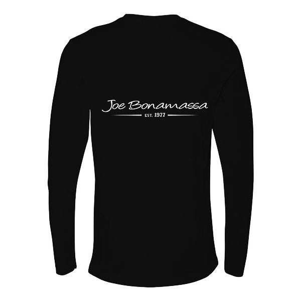 Bona Who? Long Sleeve (Men) - Black