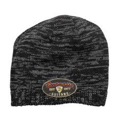 The Stamp Space Dyed Beanie - Black/Charcoal