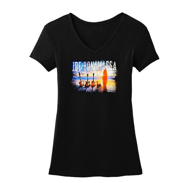 Bonamassa's Sunset Blues V-Neck (Women)