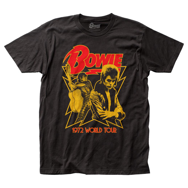 David Bowie - 1972 World Tour T-Shirt (Men)