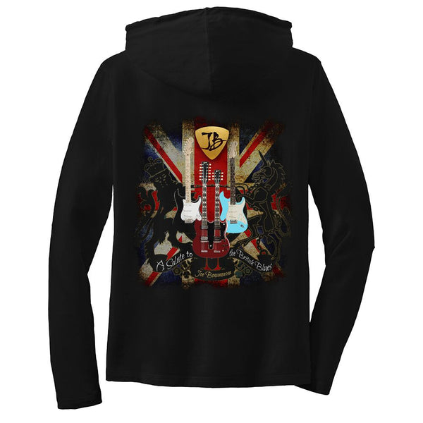 A Salute to the British Blues Hooded Long Sleeve (Women)