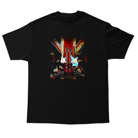 A Salute to the British Blues T-Shirt (Unisex)