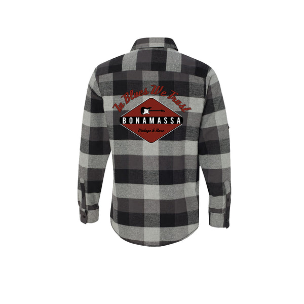 Strat Assurance Flannel Long Sleeve (Men) - Black