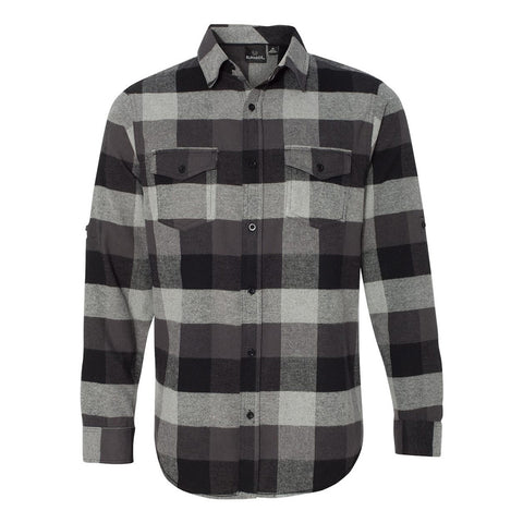 JB Vintage Flannel Long Sleeve (Men) - Black
