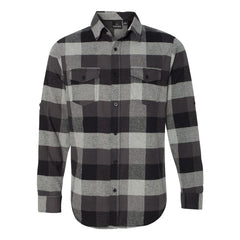 Genuine Flannel Long Sleeve (Men) - Black