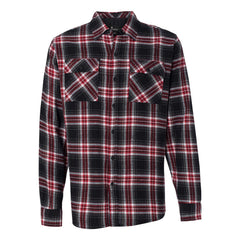 Genuine Flannel Long Sleeve (Men) - Red & Black