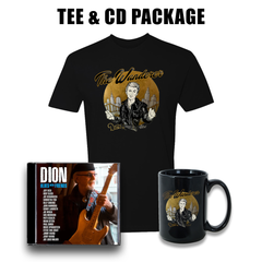 Dion: Blues with Friends CD & T-Shirt Package ***PRE-ORDER***