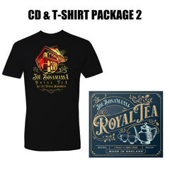 Royal Tea CD & T-Shirt Package #2 (Unisex) ***PRE-ORDER***