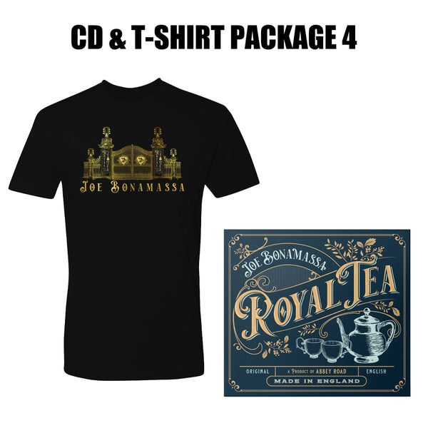 Royal Tea CD & T-Shirt Package #4 (Unisex)