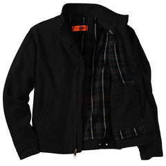 Always on the Road Back Patch - Corner Stone Washed Duck Cloth Flannel Lined Jacket (Men)
