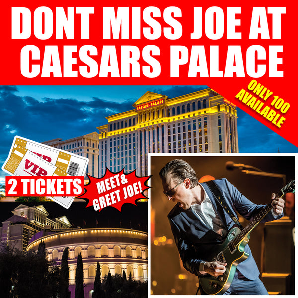 BonaVegas 2019 - The Caesars Palace & Ticket Package (2 Night Stay)