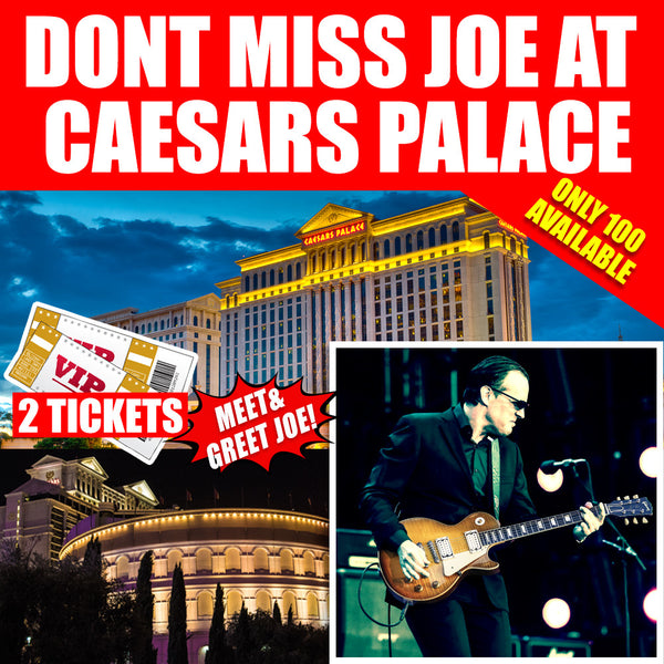 BonaVegas - The Caesars Palace & Ticket Package (3 Night Stay)